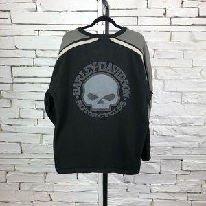 Harley Davidson Pull Over Sweater Skull 2006